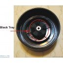 Back Black Tray Transmition - BT2231